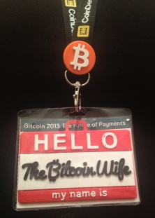 Hello my name is The Bitcoin Wife
