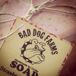 Bad Dog makes Good Soap