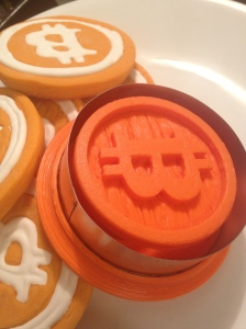 3D Printed Bitcoin Cookie Cutter
