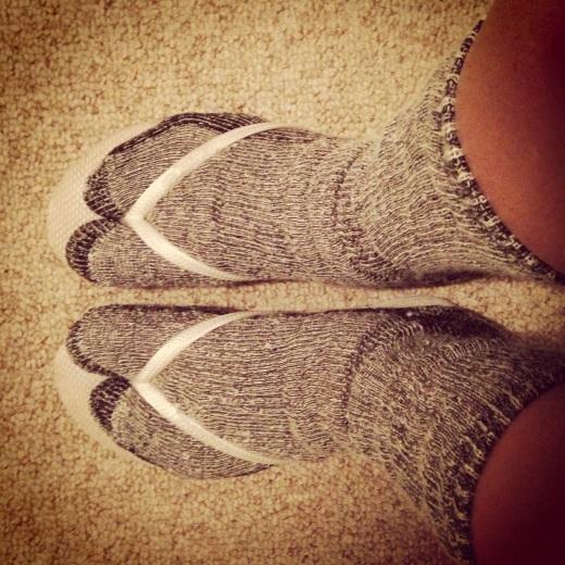 How to properly wear Alpaca socks in Hawaii